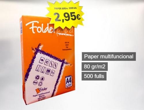 Paper 80Grs 500Fulls A4